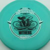 Gator - Glow Champion - Scott Withers - glow-blue - glow-champion - silver-fracture - black - 175g - 178-1g - somewhat-puddle-top - somewhat-stiff
