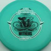 Gator - Glow Champion - Scott Withers - glow-blue - glow-champion - silver-fracture - black - 175g - 174-3g - somewhat-puddle-top - somewhat-stiff