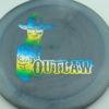 Outlaw - Pinnacle - Limited Edition - smoke - rainbow-bluegreenyellow - 174g - 174-7g - pretty-flat - neutral