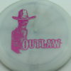 Outlaw - Pinnacle - Limited Edition - blend-gray-white - pink-mini-dots-and-stars - 175g - 175-1g - pretty-flat - neutral