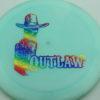Outlaw - Pinnacle - Limited Edition - light-blue - rainbow - 175g - 175-5g - pretty-flat - neutral