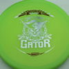 Gator - Luster Champion - Scott Withers - green - silver - red - 175g - 175-8g - super-flat - somewhat-stiff