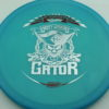 Gator - Luster Champion - Scott Withers - blue - silver - red - 175g - 174-4g - super-flat - somewhat-stiff