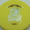 Gator - Luster Champion - Scott Withers - yellow - silver - red - 175g - 173-4g - super-flat - somewhat-stiff