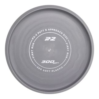 Prodigy Discs 300 Soft PA2 in grey with white stamp.