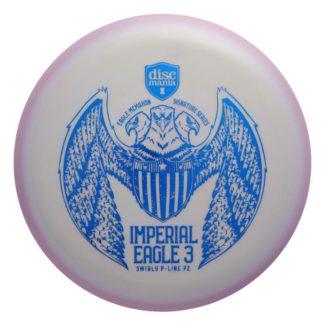 Discmania Imperial Eagle 3 Swirly P2 in P-line plastic.