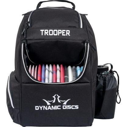 Dynamic Discs Trooper Backpack in black.