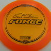 Force – Paul McBeth 4x – Z Line - orange - black - 173-175g - 174-0g - neutral - neutral