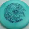 Legacy 2019 Christmas Discs - (Ghost, Gauge, Cannon) - gauge - glow-blue - glow - blue - 180g - 179-3g - somewhat-flat - somewhat-stiff