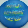 Legacy 2019 Christmas Discs - (Ghost, Gauge, Cannon) - gauge - blue - icon - rainbow-bluegreenyellow - 180g - 181-8g - somewhat-flat - pretty-gummy