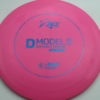 D Model S - pink - basegrip - blue - 304 - 173g - 173-3g - somewhat-domey - pretty-stiff