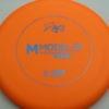 M Model OS - BaseGrip Plastic - orange - blue - 178g - 178-6g - pretty-flat - pretty-stiff - basegrip