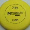 M Model OS - BaseGrip Plastic - yellow - black - 179g - 179-0g - pretty-flat - pretty-stiff - basegrip