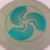 FD - Swirly S-Line - teal - 168g - 168-8g - neutral - neutral