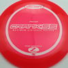 Crank SS - redpink - z-line - white - 304 - 164-166g - 165-4g - somewhat-domey - neutral