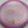 Glide - pinkpurple - z-line - bronze - 167-169g - 170-6g - somewhat-domey - pretty-stiff