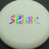 Soft APX - white - x-line - rainbow-fracture - 173-175g - 173-8g - super-flat - pretty-gummy