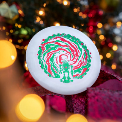 Innova Stargate XXL Holiday Destroyer in front of a holiday background.