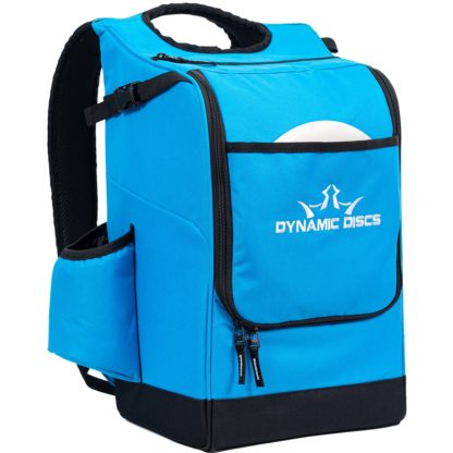 Dynamic Discs Sniper Bag in Hyper Blue.