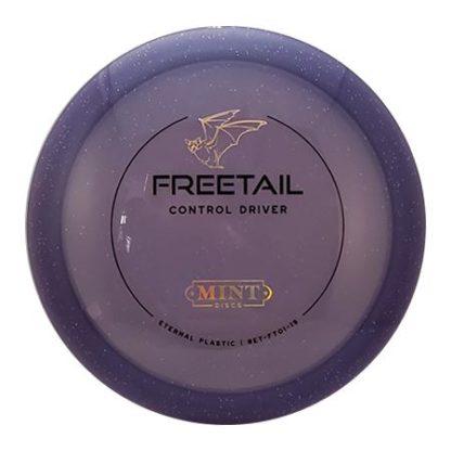 Mint Discs Freetail in Purple Eternal plastic.