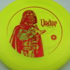 Star Wars - Discraft - buzzz - yellow - z-line - red-lines - 304 - 177g - 176-5g - somewhat-flat - neutral