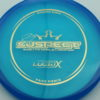 Suspect - Lucid-X - Paige Pierce 5x - blue - gold - 176g - 175-4g - somewhat-puddle-top - somewhat-stiff
