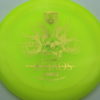 October Ghouls - Discmania PD, PD2, DD2, P2 - pd2 - yellow - c-line - gold - 175g - 176-1g - somewhat-flat - somewhat-stiff