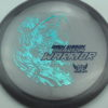 Phantom Warrior - Drew Gibson - gray - teal-w-genuine-text - blue - 175g - 177-0g - somewhat-flat - neutral