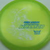 Phantom Warrior - Drew Gibson - yellowgreen - white - blue-pebbles - 175g - 178-0g - neutral - somewhat-stiff