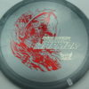 Phantom Warrior - Drew Gibson - gray - red-lines - silver - 175g - 176-5g - pretty-domey - neutral