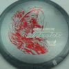 Phantom Warrior - Drew Gibson - gray - red-lines - silver - 175g - 176-1g - somewhat-domey - neutral