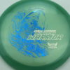 Phantom Warrior - Drew Gibson - blue-green - blue-pebbles - silver - 175g - 178-8g - neutral - somewhat-stiff