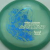 Phantom Warrior - Drew Gibson - blue-green - blue-pebbles - silver - 175g - 178-2g - neutral - somewhat-stiff