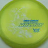 Phantom Warrior - Drew Gibson - yellowgreen - white - blue-pebbles - 175g - 178-5g - neutral - somewhat-stiff