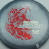 Phantom Warrior - Drew Gibson - gray - red-lines - silver - 175g - 176-3g - somewhat-flat - neutral