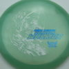 Phantom Warrior - Drew Gibson - blue-green - white - blue-pebbles - 175g - 179-0g - neutral - somewhat-stiff
