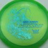 Phantom Warrior - Drew Gibson - green - teal-w-genuine-text - blue-pebbles - 173g - 173-5g - somewhat-flat - neutral