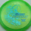 Phantom Warrior - Drew Gibson - green - teal-w-genuine-text - blue-pebbles - 173g - 174-1g - somewhat-flat - neutral