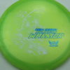 Phantom Warrior - Drew Gibson - yellowgreen - white - blue-pebbles - 175g - 178-0g - somewhat-domey - somewhat-stiff