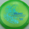 Phantom Warrior - Drew Gibson - green - teal-w-genuine-text - blue-pebbles - 174g - 174-5g - somewhat-flat - neutral