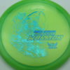 Phantom Warrior - Drew Gibson - green - teal-w-genuine-text - blue-pebbles - 173g - 173-4g - somewhat-flat - neutral