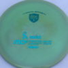 MD5 - Not so Swirly S Line ;) - teal - 175g - 174-9g - pretty-flat - somewhat-stiff