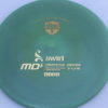 MD5 - Not so Swirly S Line ;) - gold - 175g - 175-9g - somewhat-flat - somewhat-stiff