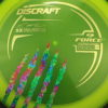 Force - Paul McBeth - 5x Signature Series Claw - yellow - gold - acid-party-time - 173-175g - 176-2g - pretty-domey - somewhat-stiff