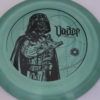 Star Wars - Discraft - heat - swirly - esp - black - 304 - 173-175g - 175-2g - pretty-domey - pretty-stiff