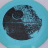 Star Wars - Discraft - force - swirly - esp - black - 304 - 173-175g - 174-6g - somewhat-flat - pretty-stiff