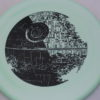 Star Wars - Discraft - zone - swirly - esp - black - 304 - 173-175g - 174-6g - somewhat-puddle-top - somewhat-stiff