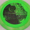 Star Wars - Discraft - force - swirly - esp - black - 304 - 173-175g - 176-0g - somewhat-domey - pretty-stiff