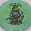 Star Wars - Discraft - force - swirly - esp - black - 304 - 170-172g - 174-1g - somewhat-domey - pretty-stiff
