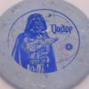 Star Wars - Discraft - zone - swirly - jawbreaker - blue-fracture - 304 - 170-172g - 171-9g - pretty-flat - neutral